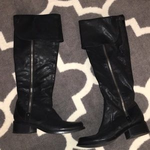 Jessica Simpson knee high/over the knee boots
